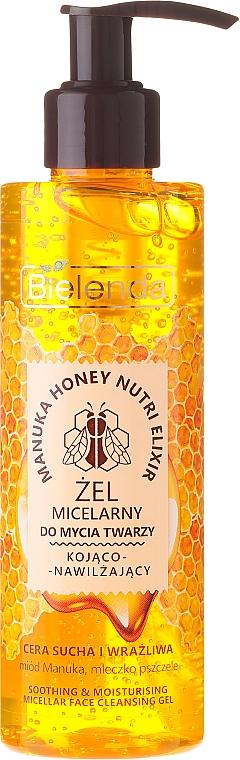 Softening Moisturizing Micellar Face Wash Gel - Bielenda Manuka Honey Gel Micelar
