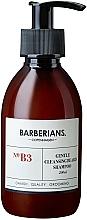 Fragrances, Perfumes, Cosmetics Beard Shampoo - Barberians. №B3 Cleansing Beard Shampoo