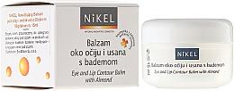 Fragrances, Perfumes, Cosmetics Eye and Lip Contour Balm with Almond Oil - Nikel Eye and Lip Contour Balm