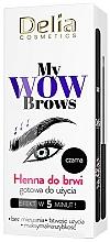 Fragrances, Perfumes, Cosmetics Brow Henna - Delia My Wow Brows