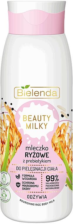 Body Milk - Bielenda Beauty Milky Nourishing Rice Body Milk