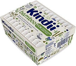 Fragrances, Perfumes, Cosmetics Baby Cotton Buds - Kindii Bamboo Cotton Buds