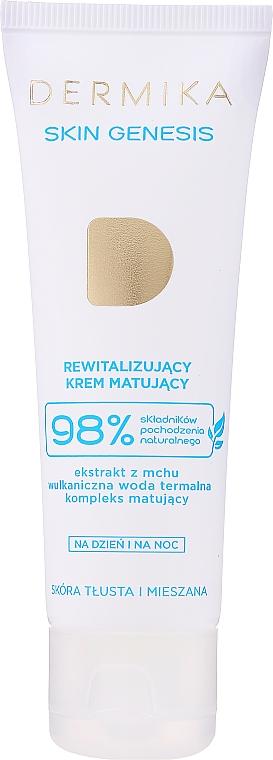 Repair Mattifying Face Cream for Oily & Combination Skin - Dermika Skin Genesis