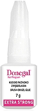 Fragrances, Perfumes, Cosmetics Fake Nails Glue - Donegal Brush-On Gel Glue Extra Strong
