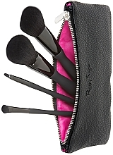 Fragrances, Perfumes, Cosmetics Makeup Brush Set, 4 pcs - Peggy Sage Set