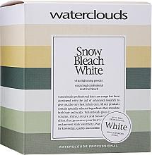 Fragrances, Perfumes, Cosmetics Lightening Powder - Waterclouds Snow Bleach White
