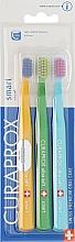 Fragrances, Perfumes, Cosmetics Kids Smart Toothbrush Set, orange, green, blue - Curaprox