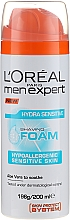 Fragrances, Perfumes, Cosmetics Shaving Foam for Sensitive Skin - L'Oreal Paris Men Expert