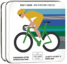"""Fragrances, Perfumes, Cosmetics Soap """"Cycling"""" - Scottish Fine Soaps Cycling Sports Soap In A Tin"""