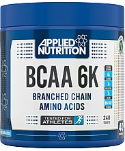"""Fragrances, Perfumes, Cosmetics Dietary Supplement """"BCAA 6K 4:1:1"""", 240 tablets - Applied Nutrition BCAA 6K 4:1:1"""
