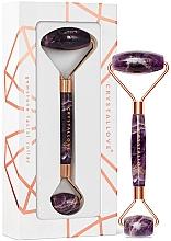 Fragrances, Perfumes, Cosmetics Amethyst Face Roller - Crystallove Amethyst roller