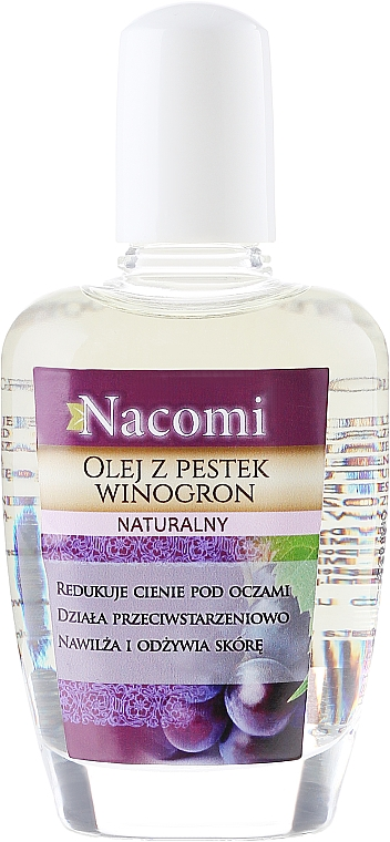 Grape Seed Face and Body Oil - Nacomi Natural