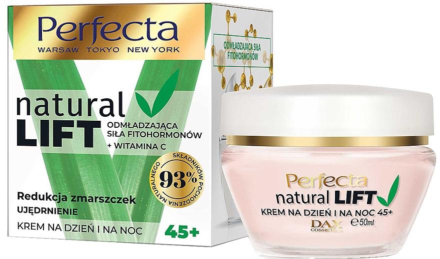 Anti-Wrinkle Firming Cream 45+ - Perfecta Natural Lift Anti-wrinkle Firming Cream