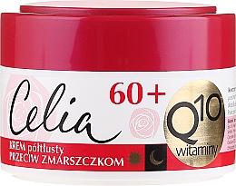 Fragrances, Perfumes, Cosmetics Anti-Aging Semi-Oily Face Cream - Celia Q10 Face Cream 60+