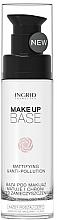 Fragrances, Perfumes, Cosmetics Oil-Free Mattifying Base - Ingrid Cosmetics Make-up Base Mattifying & Anti-Pollution