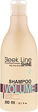Fragrances, Perfumes, Cosmetics Hair Shampoo - Stapiz Sleek Line Volume Shampoo