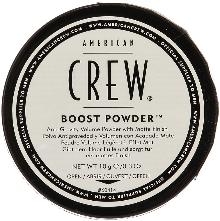 Anti-Gravity Boost Powder with Matte Effect - American Crew Boost Powder