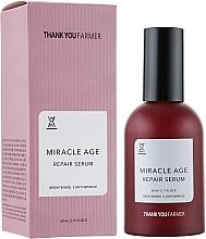 Fragrances, Perfumes, Cosmetics Anti-Wrinkle Brightening Regenerating Serum - Thank You Farmer Miracle Age Serum