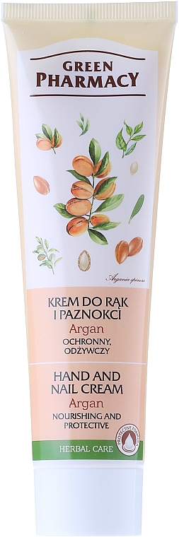 "Hand and Nail Protective Cream ""Argan Oil"" - Green Pharmacy"