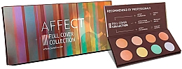 Fragrances, Perfumes, Cosmetics Correcting Palette - Affect Cosmetics Full Cover Collection