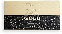 Fragrances, Perfumes, Cosmetics Eyeshadow Palette - Revolution PRO 24K Gold Eye Shadow Palette