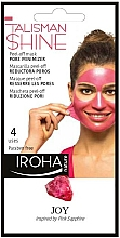 Fragrances, Perfumes, Cosmetics Face Peel-Off Mask - Iroha Nature Peel Off Pink Sapphire Pore Minimizer