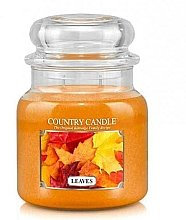 Fragrances, Perfumes, Cosmetics Scented Candle - Country Candle Leaves