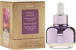 Fragrances, Perfumes, Cosmetics Eye Elixir - Korres Golden Krocus Ageless Eye Elixir