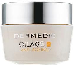 Fragrances, Perfumes, Cosmetics Night Nourishing Face Cream - Dermedic Oilage Repairing Night Cream