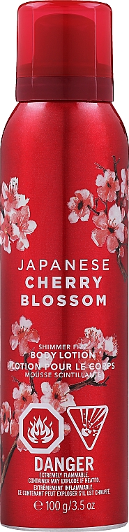Bath and Body Works Japanese Cherry Blossom Shimmer Fizz - Body Lotion — photo N1