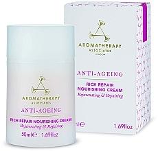 Fragrances, Perfumes, Cosmetics Anti-Aging Nourishing Face Cream - Aromatherapy Associates Anti-Ageing Rich Repair Nourishing Cream