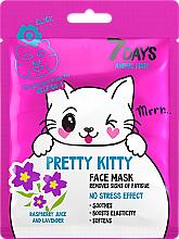 "Fragrances, Perfumes, Cosmetics Face Mask ""Pretty Kitty"" - 7 Days Animal Pretty Kitty"