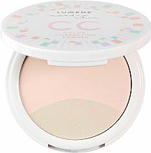 Fragrances, Perfumes, Cosmetics Color Correcting Compact Powder - Lumene Nordic Chic CC Color Correcting Powder