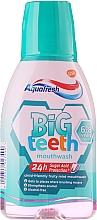 Fragrances, Perfumes, Cosmetics Mouthwash - Aquafresh Big Teeth Mouthwash