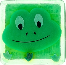 "Fragrances, Perfumes, Cosmetics Glycerin Soap ""Frog"" - Chlapu Chlap Glycerine Soap"