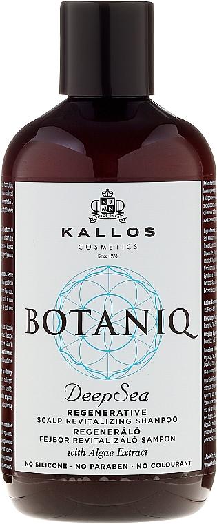 Repair & Nourishing Hair & Scalp Shampoo - Kallos Cosmetics Botaniq Deep Sea Shampoo