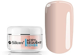 Fragrances, Perfumes, Cosmetics Acrylic Powder - Silcare Sequent ECO Pro