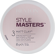 Fragrances, Perfumes, Cosmetics Hair Styling Clay - Revlon Professional Style Masters Matt Clay