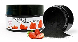 Fragrances, Perfumes, Cosmetics Strawberry Whitening Powder - Keeth Strawberry-flavoured Activated Charcoal Bleaching Powder