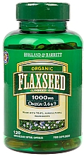 Fragrances, Perfumes, Cosmetics Linseed Oil - Holland & Barrett Flaxseed Oil Organic 1000mg