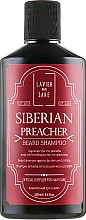 Fragrances, Perfumes, Cosmetics Beard Shampoo - Lavish Care Siberian Preacher Beard Shampoo