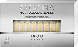 Fragrances, Perfumes, Cosmetics Hair Growth Stimulation Lotion for Women 1900 - Crescina Hair Follicular Island 1900 Woman