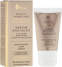 Fragrances, Perfumes, Cosmetics Eye Serum - Ava Laboratorium Beuty Home Care Eye Contour Serum With Algae & Coenzyme Q10