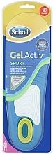 Fragrances, Perfumes, Cosmetics Comfort Insoles - Scholl Gel Activ Insole Sport Woman