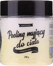 "Fragrances, Perfumes, Cosmetics Cleansing Body Peeling ""Pina Colada"" - Lalka"