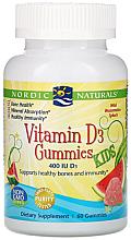 """Fragrances, Perfumes, Cosmetics Dietary Supplement """"Vitamin D"""" - Nordic Naturals Vitamin D3 Gummies Water Melon"""