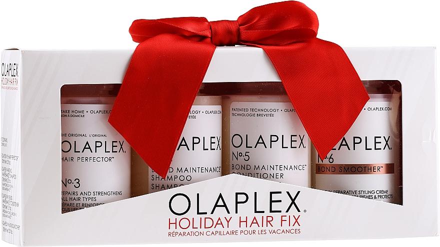 Set - Olaplex Holiday Hair Fix (cond/100ml + shmp/100ml + h/cr/100ml + ser/100ml)