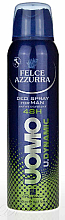 Fragrances, Perfumes, Cosmetics Deodorant Antiperspirant - Felce Azzurra Deo Uomo Dynamic