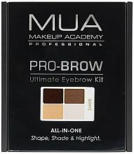 Fragrances, Perfumes, Cosmetics Brow Correction Kit - MUA Pro-Brow Ultimate Eye Brow Kit
