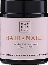 Fragrances, Perfumes, Cosmetics Nail and Hair Capsules - Matcha & Co Hair & Nails Capsules